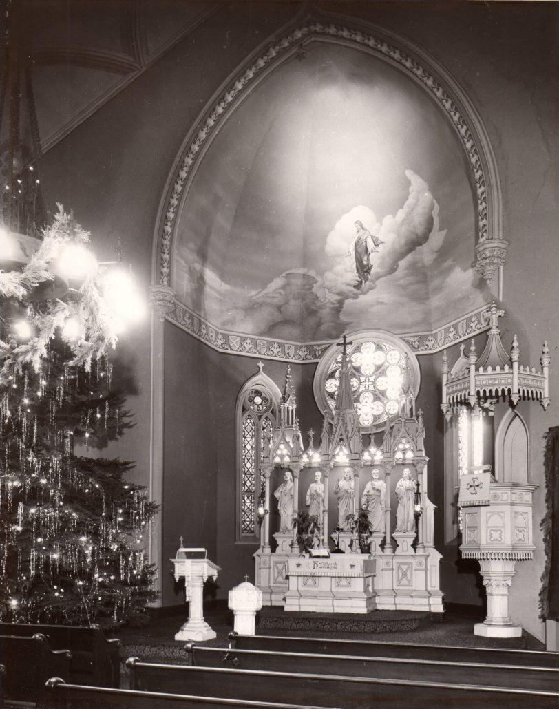 F & S Altar Xmas